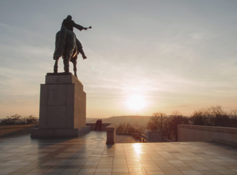 Free image of Horse statue in Prague