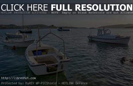 Free image of Boats on the Sea in Croatia