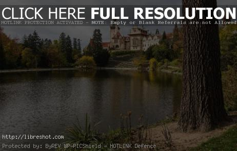Pruhonice Castle With Pond | Free Images For Commercial Use