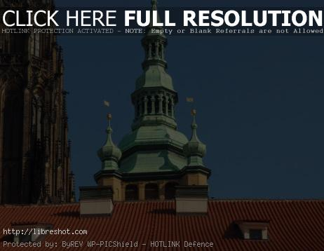 An Unusual View Of Prague Castle