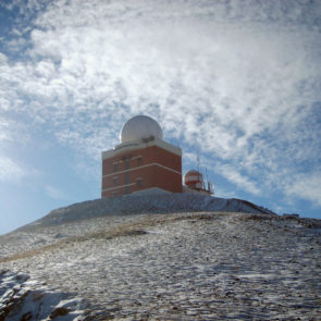 Weather station in Ulaanbaatar