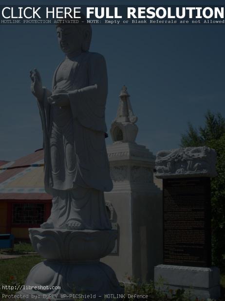Buddha statue in Mongolia