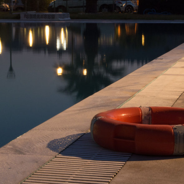 Life Ring By The Pool