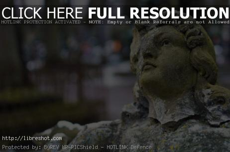 Broken Statue in a Cemetery | Free Images For Commercial Use