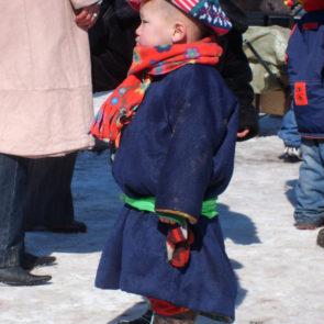 Mongolian baby