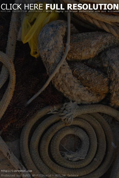 Free image of Pile Of Ropes