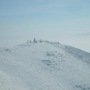 Mongolian sacred mountain in Ulaanbaatar