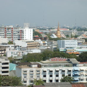 View of the city of Bangkok