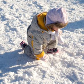 Children On Snow