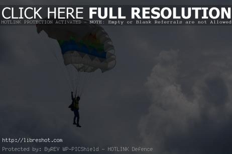Free image of Parachutist