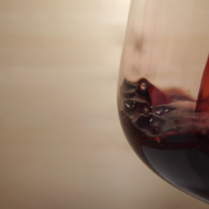 Red Wine With Copy Space