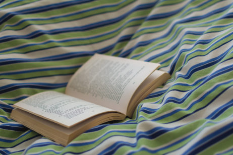 Free Image: Open Book in Bed | Libreshot Free Stock Photos