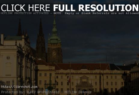 Prague Castle From Hradcany Square