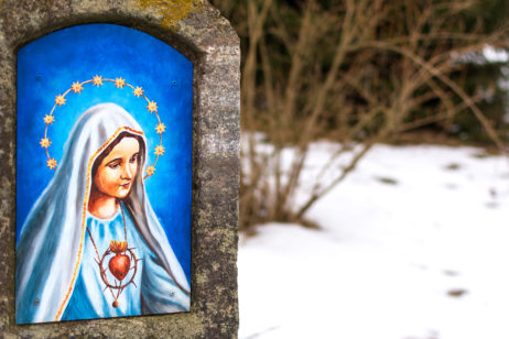 Free Image: Mary on Wayside shrine | Libreshot Public Domain Photos