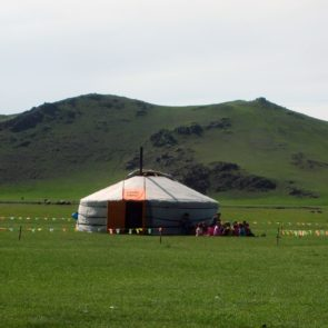 Mongolian yurt – nursery