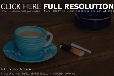Free image of Coffee and cigarette