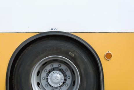 FREE IMAGE: Yellow bus tyre | Libreshot Public Domain Photos