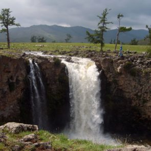 Orkhon Waterfall in Mongolia
