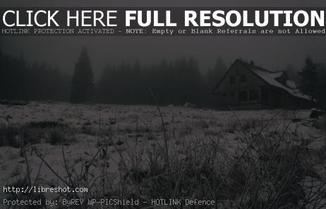 Free image of Modern wooden cottage in the mountains