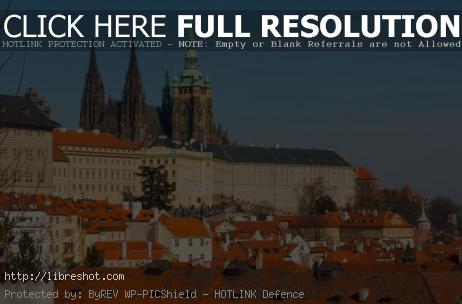 Free image of Prague Castle And St. Vitus Cathedral