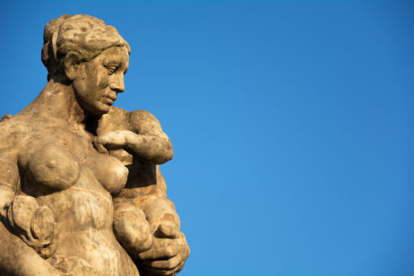 Free image of Mother and Child Statue