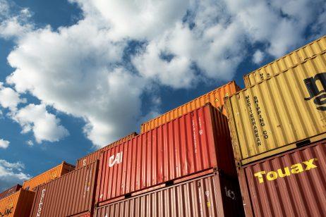 FREE IMAGE: Intermodal Containers | Libreshot Public Domain Photos