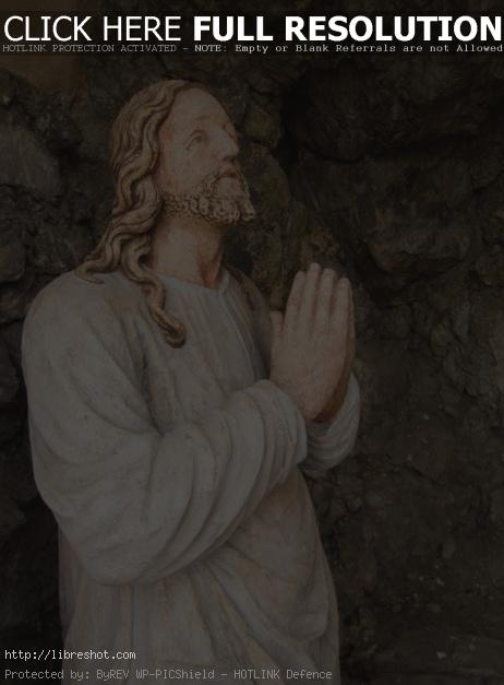 Free image of Old Jesus Christ Statue