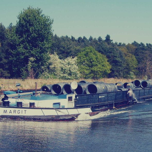 River Cargo Vessel