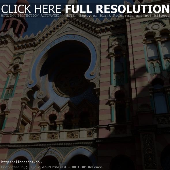 Jubilee Synagogue in Prague