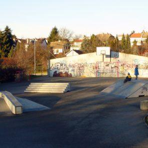 Small Skatepark in Prague