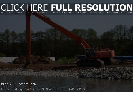 River dredging