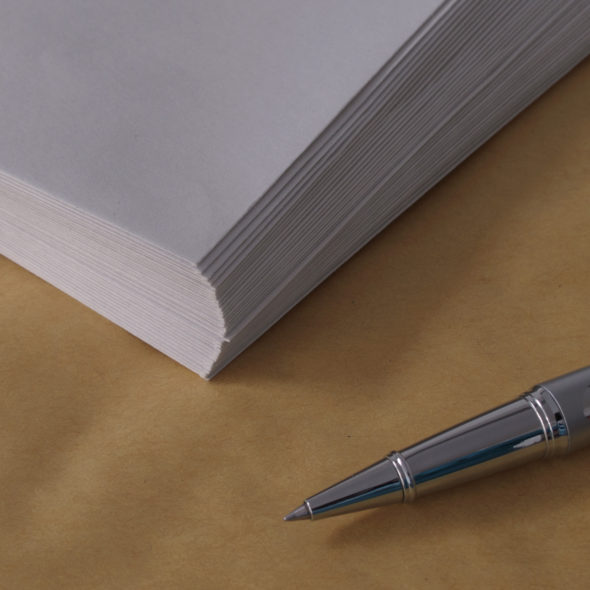 Pen And Envelopes In Office