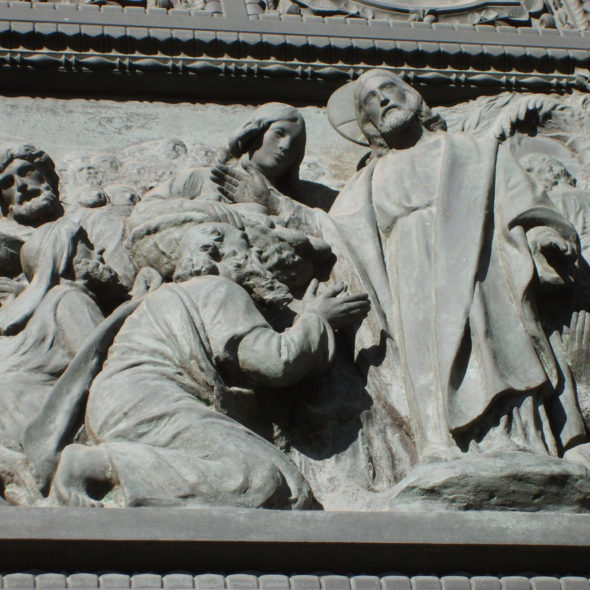 Notre Dame in detail