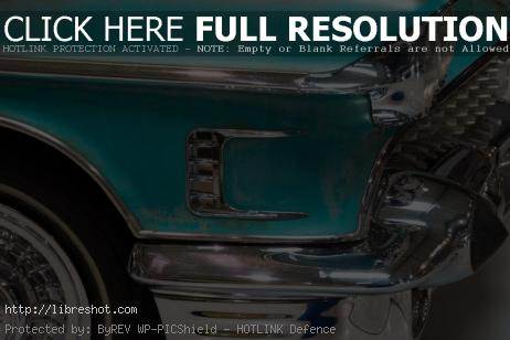 Free image of Old American Car Detail