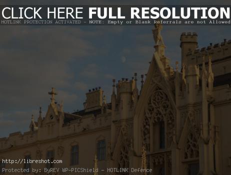 Neo-Gothic Style Castle Lednice