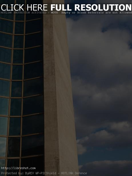 Free image of Concrete And Glass Architecture Detail