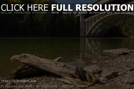 Highway Bridge Over the Lake | Free Images For Commercial Use