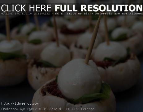 Italian food – Canapes