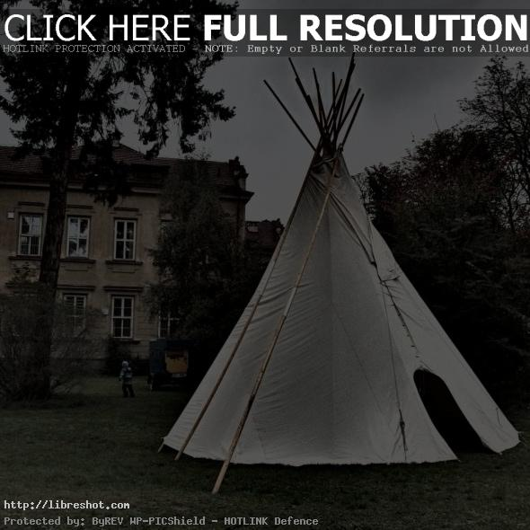 Teepee In The Park