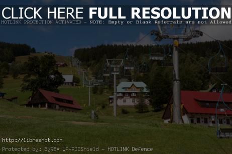 Free image of Ski Slope In Summer