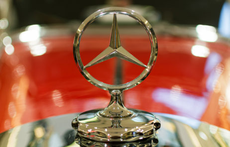 Free Image The Mercedes Benz Logo On A Classic Car Libreshot Free