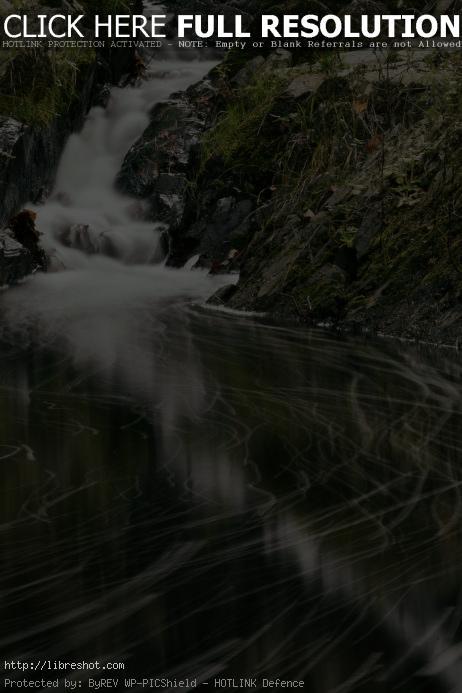 Free image of Waterfall – Long Exposure
