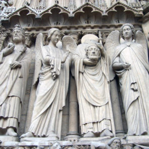 Detail of Notre Dame