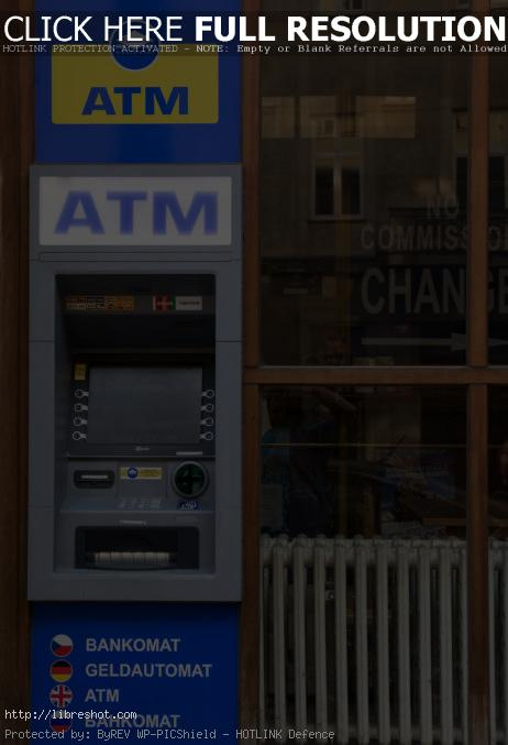 Free image of ATM – Cash Machine