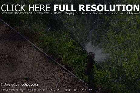 Free image of Lawn Sprinkler Watering System