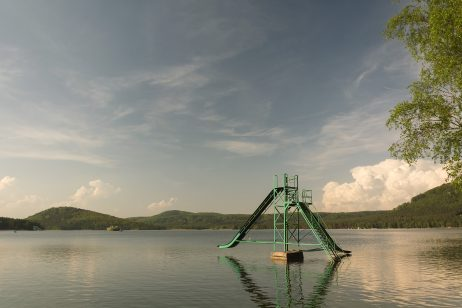 FREE IMAGE: Lake Machovo Jezero With Slide | Libreshot Public Domain Photos