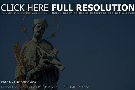 Free image of The Statue Of The Saint Person