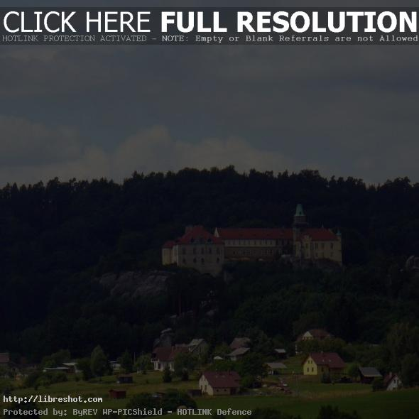 View To Hruba Skala Castle