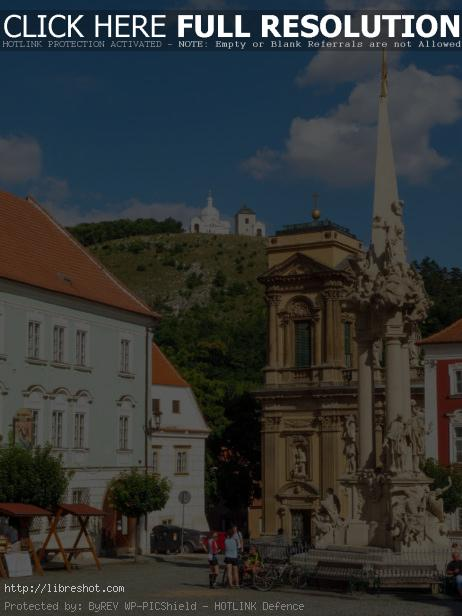 Free image of Old Square In Moravia