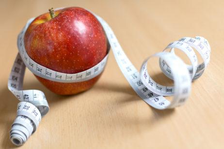 Free Image: Apple and Measuring Tape | Libreshot Free Stock Photos